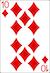 Blackjack Example - Ten of Diamonds