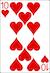 Blackjack Example - Ten of Hearts