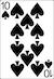 Blackjack Example - Ten of Spades