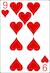 Blackjack Example - Nine of Hearts