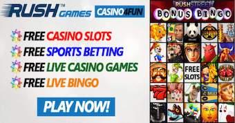 Rush Games' Free Slots, Blackjack & Casino Games | Casino4Fun