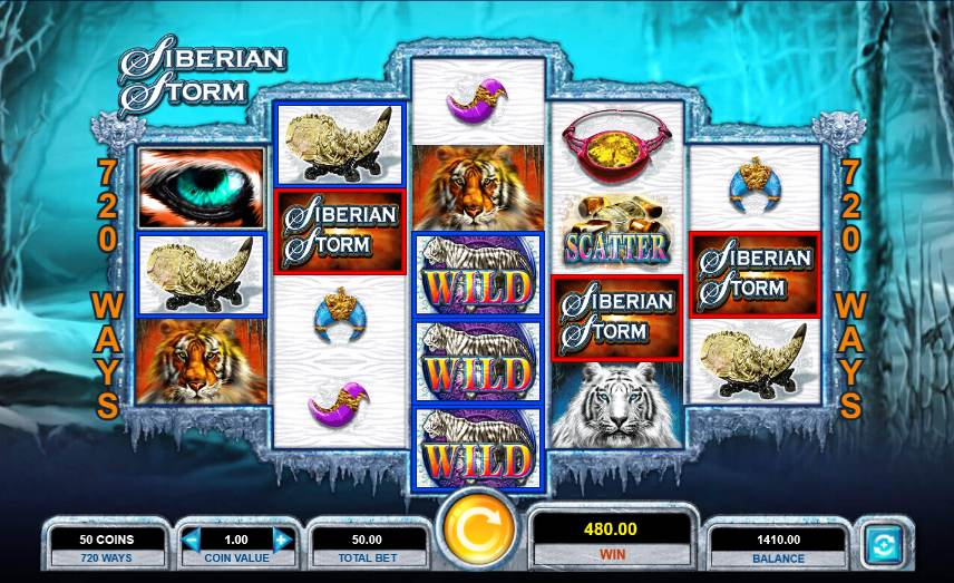 Best Slots To Play At Unibet PA - Siberian Storm