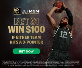 Bet $1 Win $100 BetMGM NBA Promo