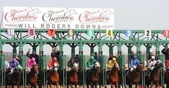 Will Rogers Downs Live Horse Race Betting