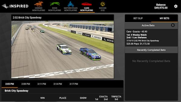 Virtual Sports At Caesars Online Casino
