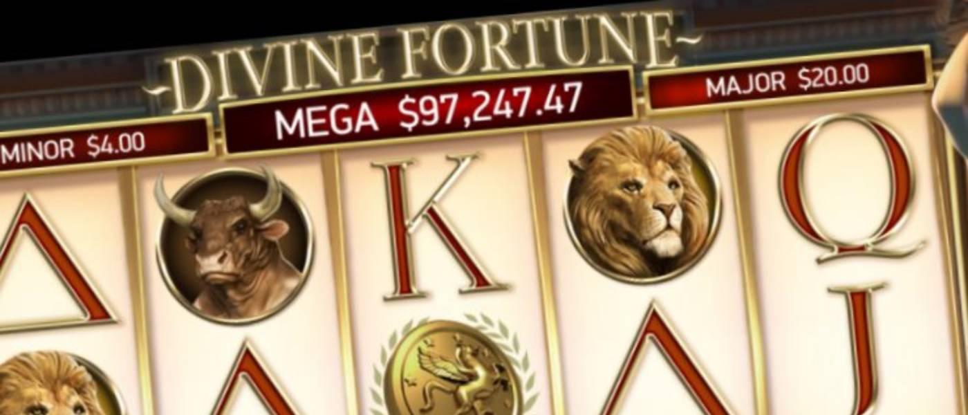Divine Fortune Jackpots