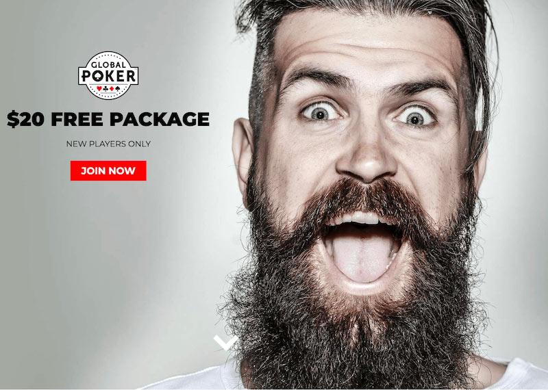 Global Poker Bonus