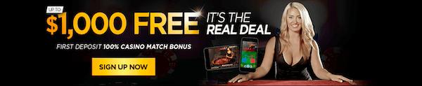 Golden Nugget no-deposit bonus up to $1,000