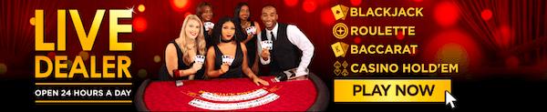Golden Nugget Live Dealer Games are 24/7