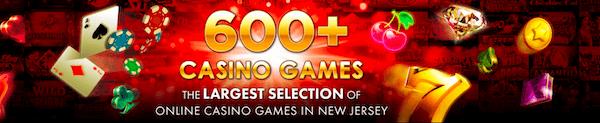Golden Nugget Online has over 600 casino games