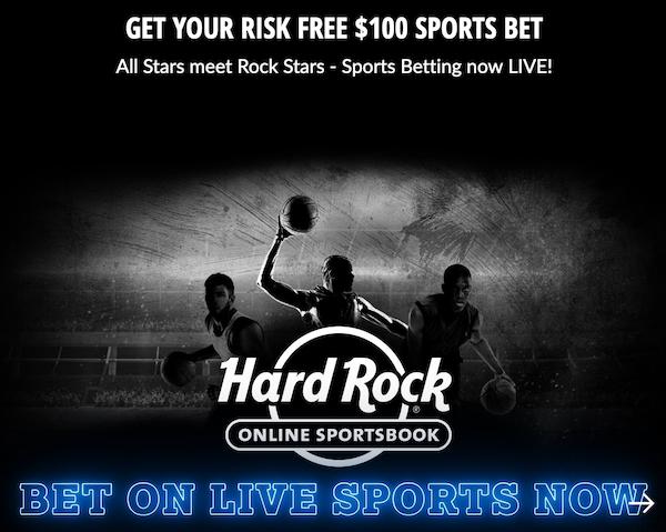 Hard Rock Sportsbook Bonus Code