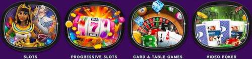 Harrahs Online Casino Game Options