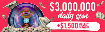 Mohegan Sun Daily Free Spin - Win $3,000,000 Instantly!