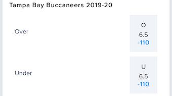 NFC South Wins Bucs