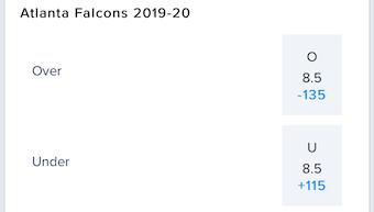 NFC South Wins Falcons