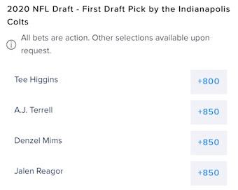 Colts Draft