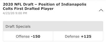 Colts Draft 2020