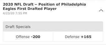 NFL Draft Eagles