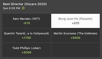 Oscars Upsets 2020