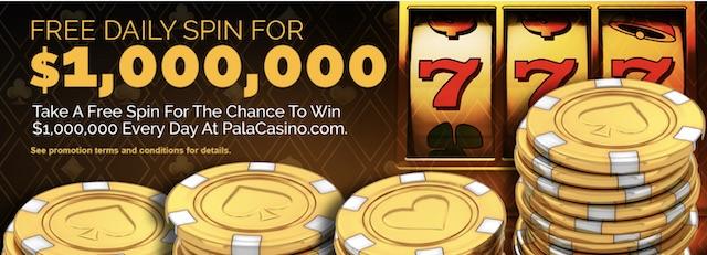 pala casino free spins