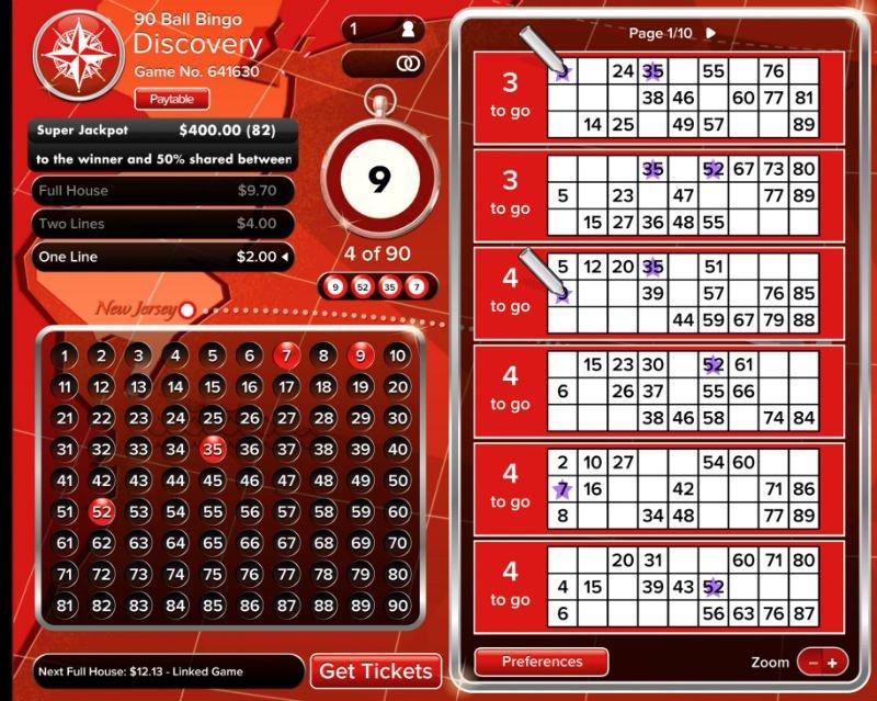 Play 90 Ball Bingo For Free At Virgin Online Casino!