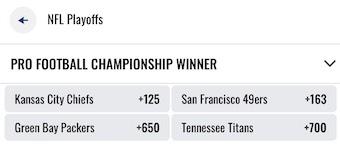Super Bowl 54 Odds FoxBet