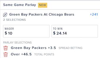 Bears Packers Week 1