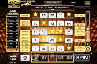Slingo Casino Game