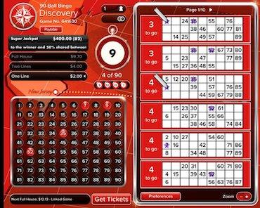 Virgin Casino 90 Ball Bingo