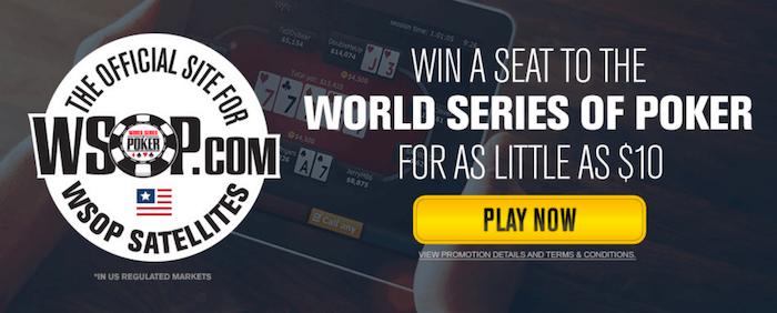 WSOP World Series of Poker Satellites