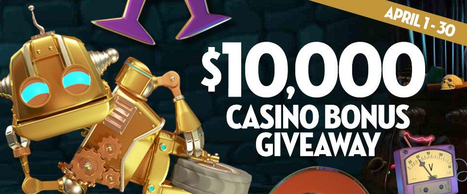 Caesars $10,000 April Giveaway