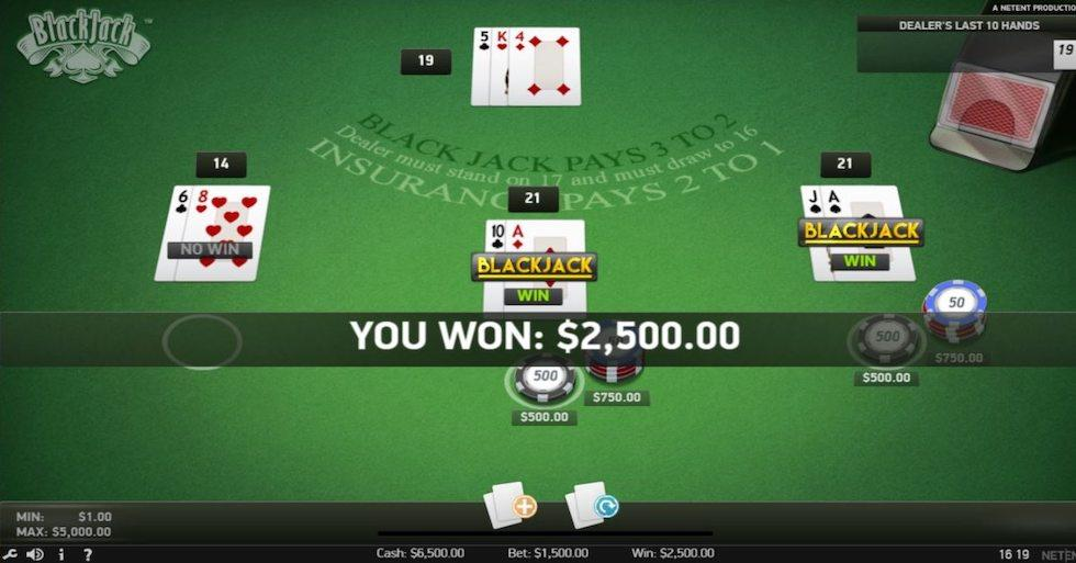 PA Online Casinos That Offer Blackjack In 2020