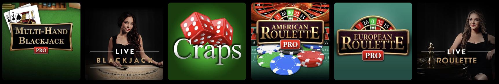 playmgm casino online nj blackjack and roulette
