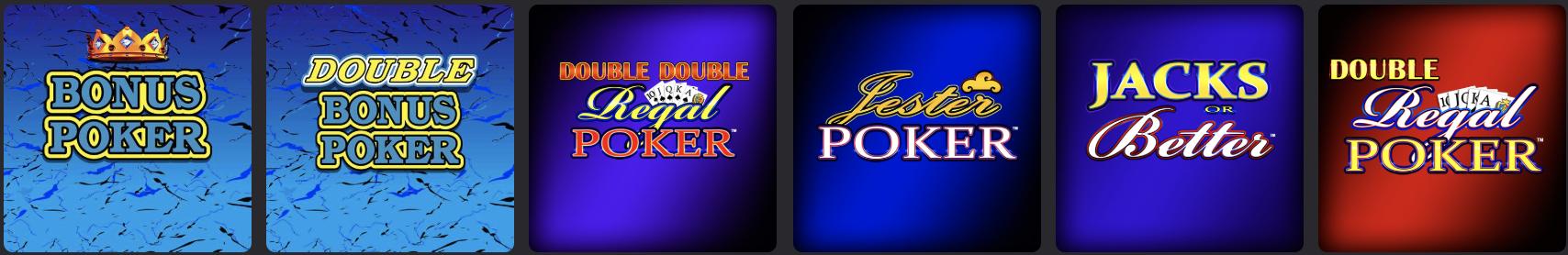playmgm casino online nj video poker
