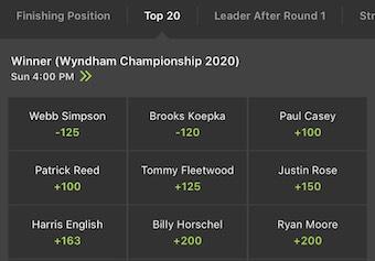 Wyndham T20 Odds